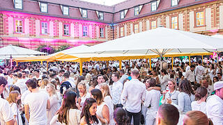 White Party Hofschoppenfest 2017